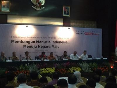 4 Tahun Jokowi-JK, Menko Darmin: Ekonomi RI Tumbuh 5,17% di Tengah Gejolak