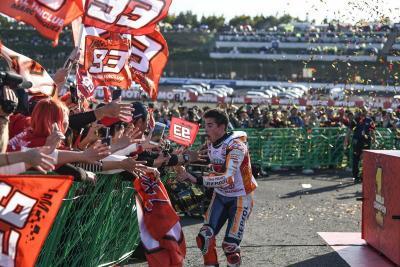 Jadi Juara Dunia MotoGP 2018, Marquez Tak Lupakan Jasa Besar Timnya