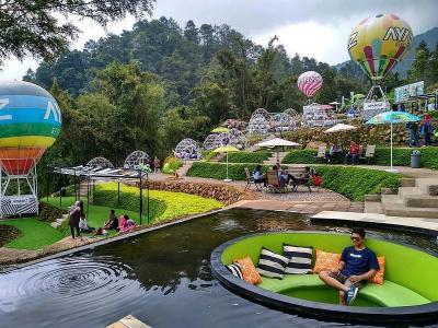 Ayana Gedong Songo, Wisata Baru Semarang yang Instagramable Banget!