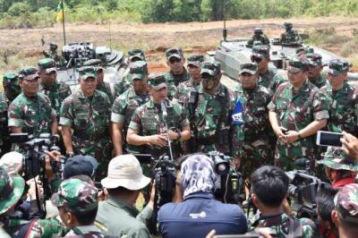 Kasad: Latihan Ancab TNI AD 2018 Akumulasi Kemampuan Tempur