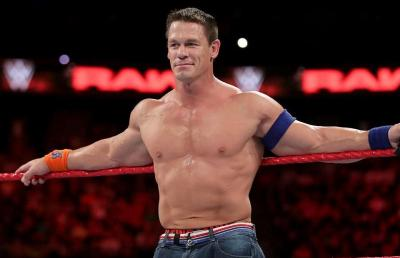 Gaya Berbeda John Cena Ketika Jadi Personel Boyband untuk Iklan Minuman