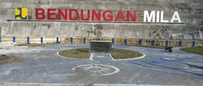 Awal Desember, Bendungan Mila di Pulau Sumbawa Siap Digenangi