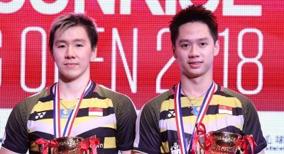 Komentar Marcus Kevin Soal Raihan Sembilan Gelar Juara
