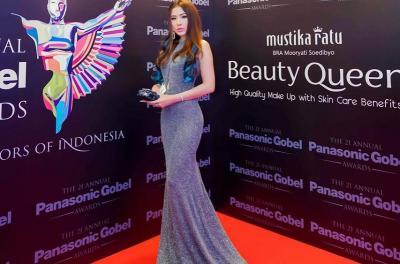 Gagal Menang, Angela Tee Tetap Bersyukur Uang Kaget Masuk Nominasi Panasonic Gobel Awards 2018