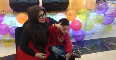 Cucu Elvy Sukaesih, Aljabbar Ikut Eksis Lewat Lagu Anak