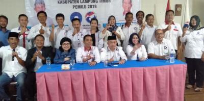 Caleg Perindo Lampung Timur Dibekali Strategi Pemenangan Partai