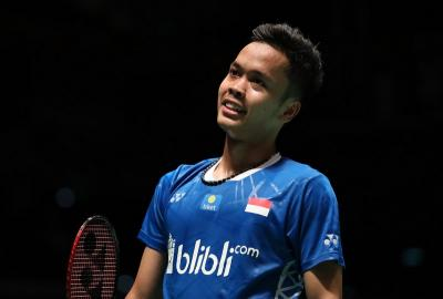 Daftar Lawan Anthony Ginting di BWF World Tour Finals 2018