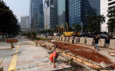 Pedestrian Kawasan Sudirman-Thamrin Fokus Pejalan Kaki dan Sepeda