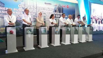 HK Realtindo Rogoh Rp2,1 Triliun Bangun Rusun Nempel Stasiun