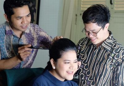 Cerita Make Up Artist Bennu Sorumba, 40 Menit Dandani Ibu Iriana Jokowi