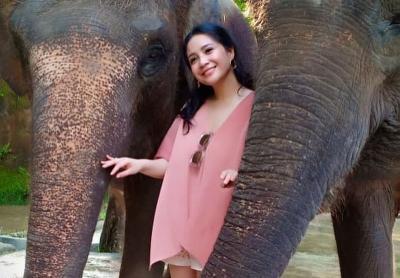 Liburan ke Bali Zoo, Item Fesyen Nagita Slavina dengan Harga Selangit Jadi Sorotan