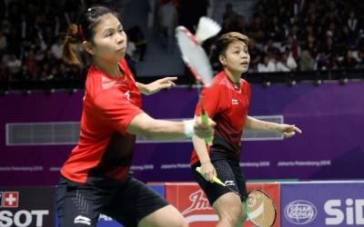 Greysia Apriyani Tertunduk dari Wakil Jepang di BWF World Tour Finals 2018