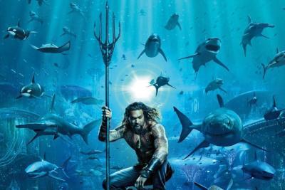 Tampil Sangar, Aquaman Grogi Ditonton Anaknya