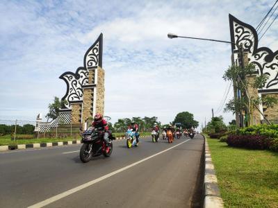 Puluhan Bikers Uji Ketangguhan Honda CBR250RR Terbaru Sejauh 73 Km