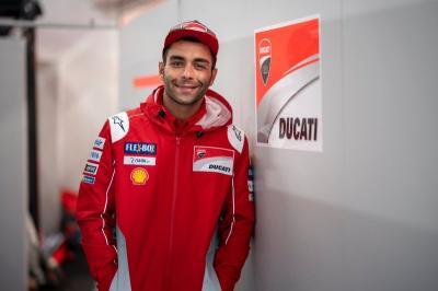Jadi Pembalap Pabrikan Ducati, Petrucci Dituntut Sejajar dengan Dovizioso dan Lorenzo