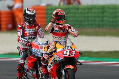 Honda Akan Diuntungkan dengan Persaingan Marquez-Lorenzo
