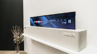LG Bakal Rilis TV dengan Fitur Pop Up dan Bisa Ditekuk?