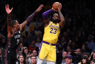 36 Poin LeBron James Tak Mampu Hindarkan Lakers dari Kekalahan