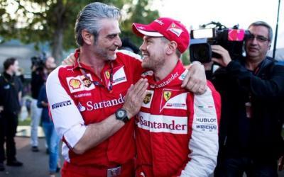 Vettel Jadi Alasan Ferrari Pecat Arrivabene