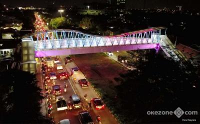 Sejumlah Jembatan Penyeberangan Orang Dipercantik