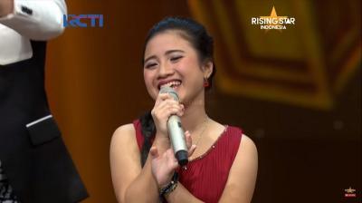 Nyanyi Dangdut Bareng Judika di Rising Star, Ayu Gurnita Bikin Penonton Berjoget