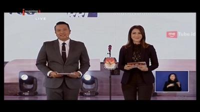 Debat Pilpres 2019 Memanas, Netizen Malah Salfok ke Tampilan Ira Koesno yang Awet Muda!