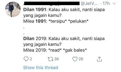 Trailer Dilan 1991 Rilis, 5 Meme dari Netizen Bikin Kamu Mesem-Mesem Sendiri!