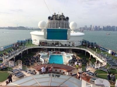 Jajal Kemewahan Kapal Pesiar, Hotel Bintang 5 di Atas Laut
