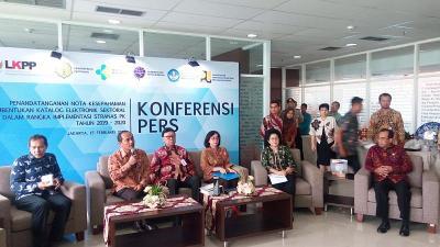 Cegah Korupsi, 5 Kementerian Anggaran Besar Kerja Sama dengan LKPP