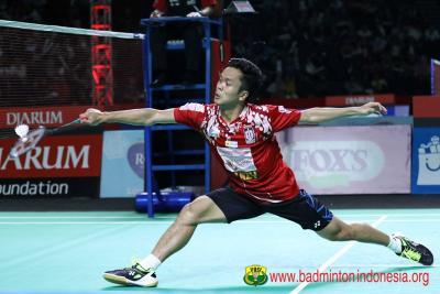 Turun di Superliga Badminton 2019, Ginting Nostalgia