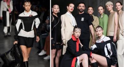 Debut dengan Burberry, Begini Cantiknya Gigi Hadid di London Fashion Week 2019