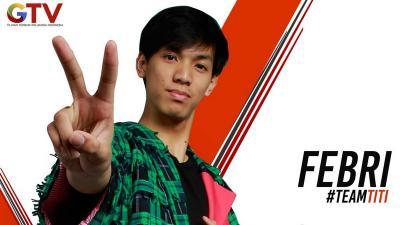 Karena Berinteraksi dengan Penonton, Febri Selamat dari The Voice Indonesia