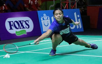 Gregoria Mariska Absen Bela Mutiara Cardinal di Final Superliga Badminton 2019