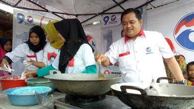 Caleg Perindo M Sopiyan Gelar <i>Cooking Class</i> di Kemang