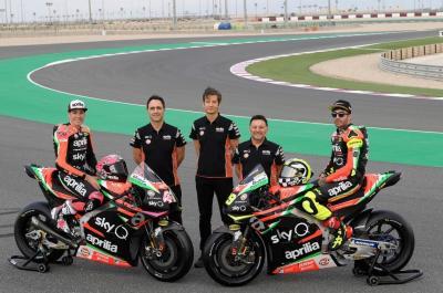Aprilia Luncurkan Motor Baru Jelang Tes Pramusim Kedua MotoGP 2019