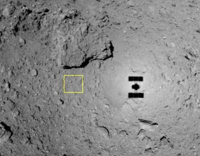 Satelit Jepang Tembak Asteroid di Luar Angkasa