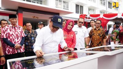 5 Rusunawa dan 50 Unit Rusus di Jawa Tengah Diresmikan