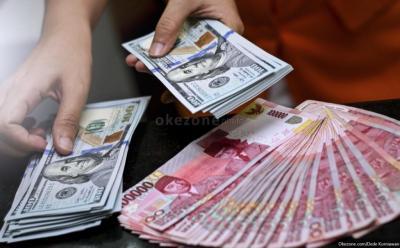 Dolas AS Tekan Rupiah ke Level Rp14.162 USD