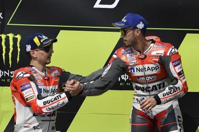 Dovizioso Beberkan Sisi Positif dan Negatif Setim dengan Lorenzo