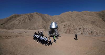 China Ciptakan 'Markas' Mars di Gurun Gobi, Intip Interiornya
