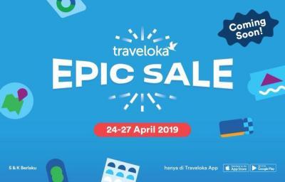 Bocoran Promo Traveloka Epic Sale, Ada Diskon Besar-Besaran Hingga 80%!