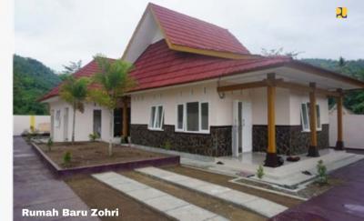 Kementerian PUPR Rampungkan Pembuatan Rumah untuk Zohri