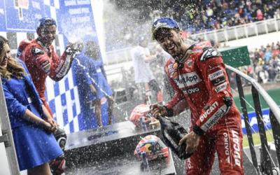Finis 3 Besar di MotoGP Prancis 2019, Petrucci: Terima Kasih, Dovi!