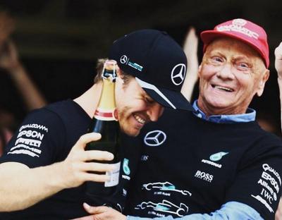 Niki Lauda Meninggal Dunia, Rosberg Tulis Pesan Menyentuh