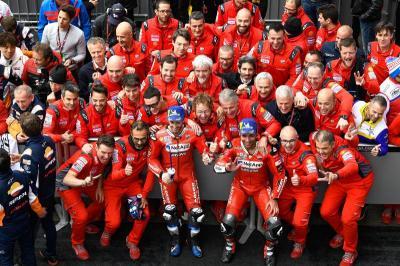 Tardozzi Kurang Puas dengan Penampilan Ducati di 5 Seri Pertama MotoGP 2019