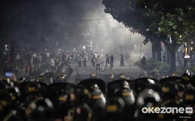 Terpapar Gas Air Mata di Aksi 22 Mei Bisa Membuat Penglihatan Buram