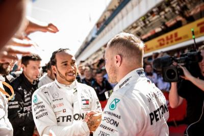 Hamilton Akui Bottas Saingan Terberatnya di F1 2019