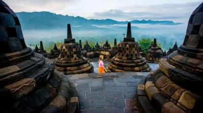 7 Agen Travel Jepang Dapat Undangan Khusus Lihat Wisata Candi Borobudur