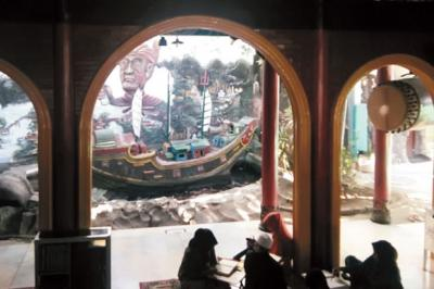 Melihat Pendar Rendah Hati di Masjid Muhammad Cheng Ho