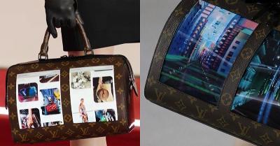 Tas Mewah Louis Vuitton Dilengkapi Layar Touchscreen OLED, Super Canggih!